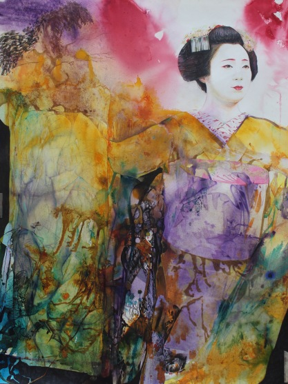 'Maiko's Dance' 120x100cm